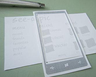 Windows Phone prototyping.