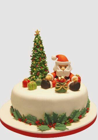 Tarta navideña