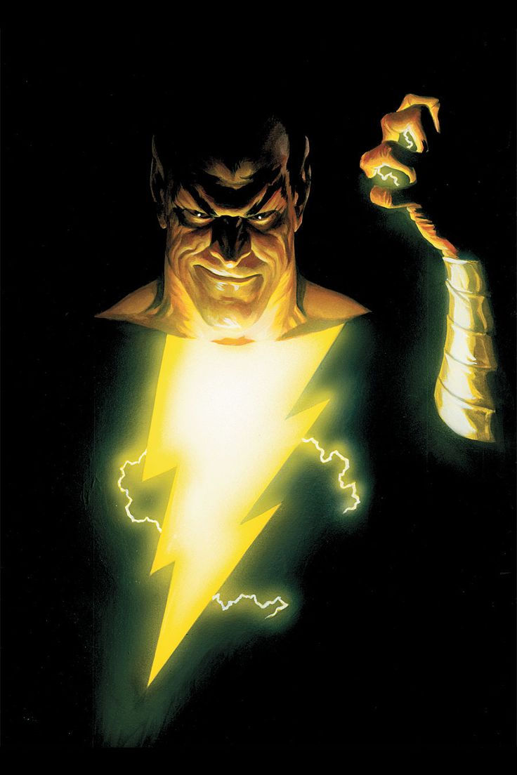 Black Adam Alex Ross Makes Everything Beautiful I Want Him To Draw My Reality