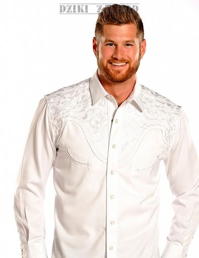 koszula kowbojska Panhandle White