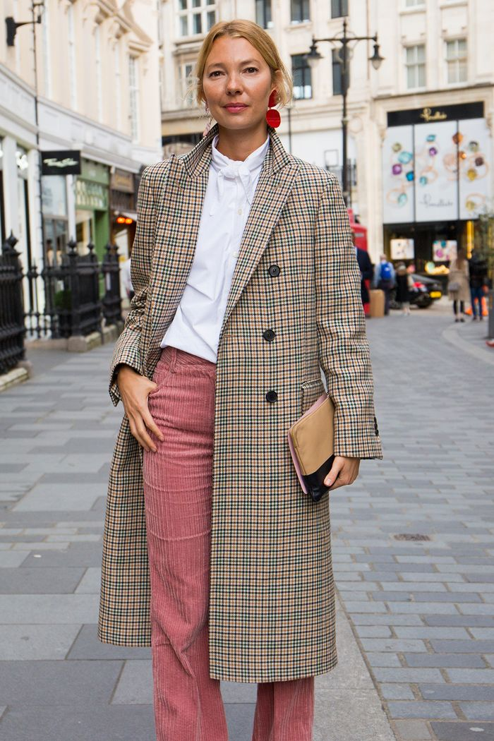 The Outfits That Are Perfect With Corduroy Pants via @WhoWhatWearUK