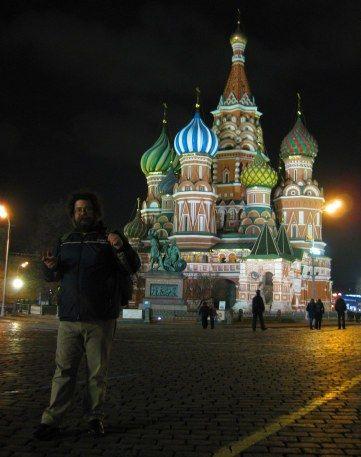 Η Κόκκινη Πλατεία με τον πολύχρωμο ναό του Αγίου Βασιλείου