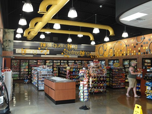 Image Result For Convenience Digital Backwall Display · Retail