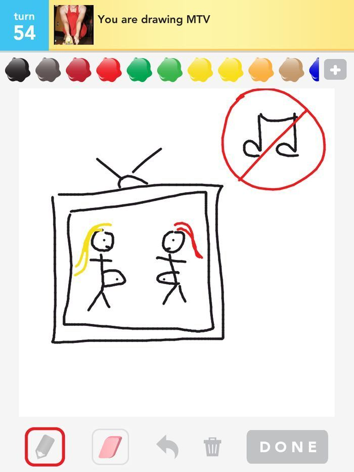 You are drawing MTV: so true and sad.Drawing Something, Teen Mom, Drawing Mtv, 53 Pics, Awesome Pin, Things, Music Videos, Savory Recipe, True Stories
