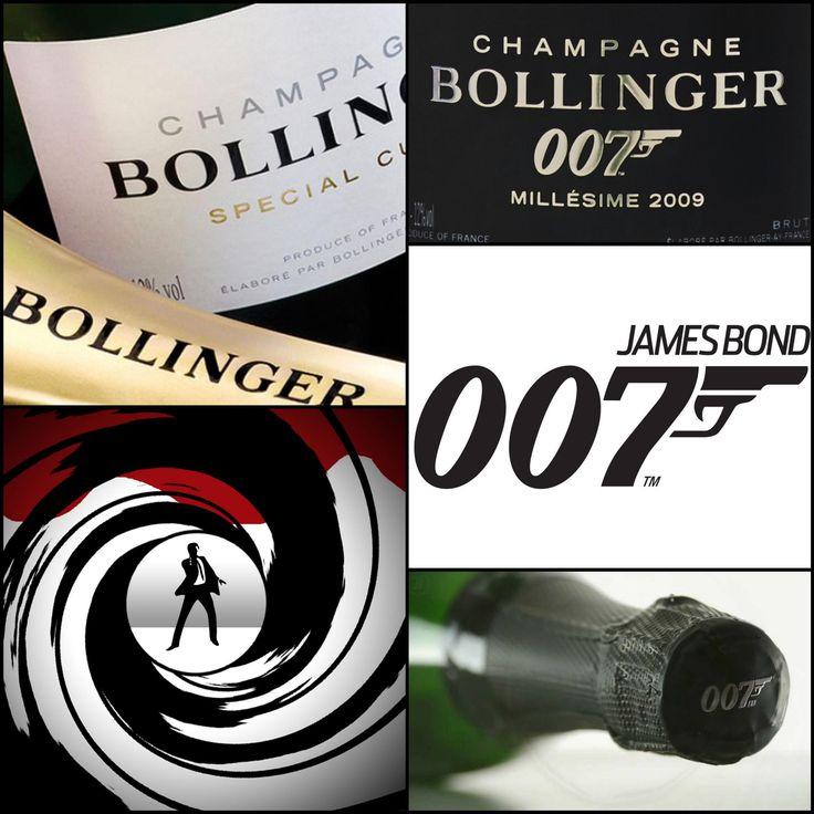 """Bollinger è divenuto simbolo di nobiltà, savoir faire e stile """"British"""" grazie James Bond, 007, e ad una tradizione enologica unica nel suo genere"""