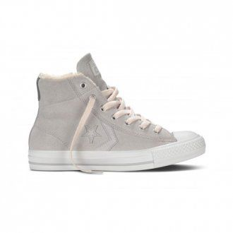 Converse Star Player EV Mid Shoes Grey Violet
