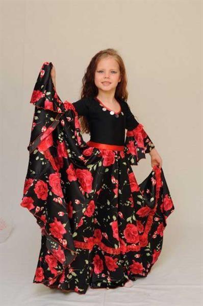 Детское платье цыганки
