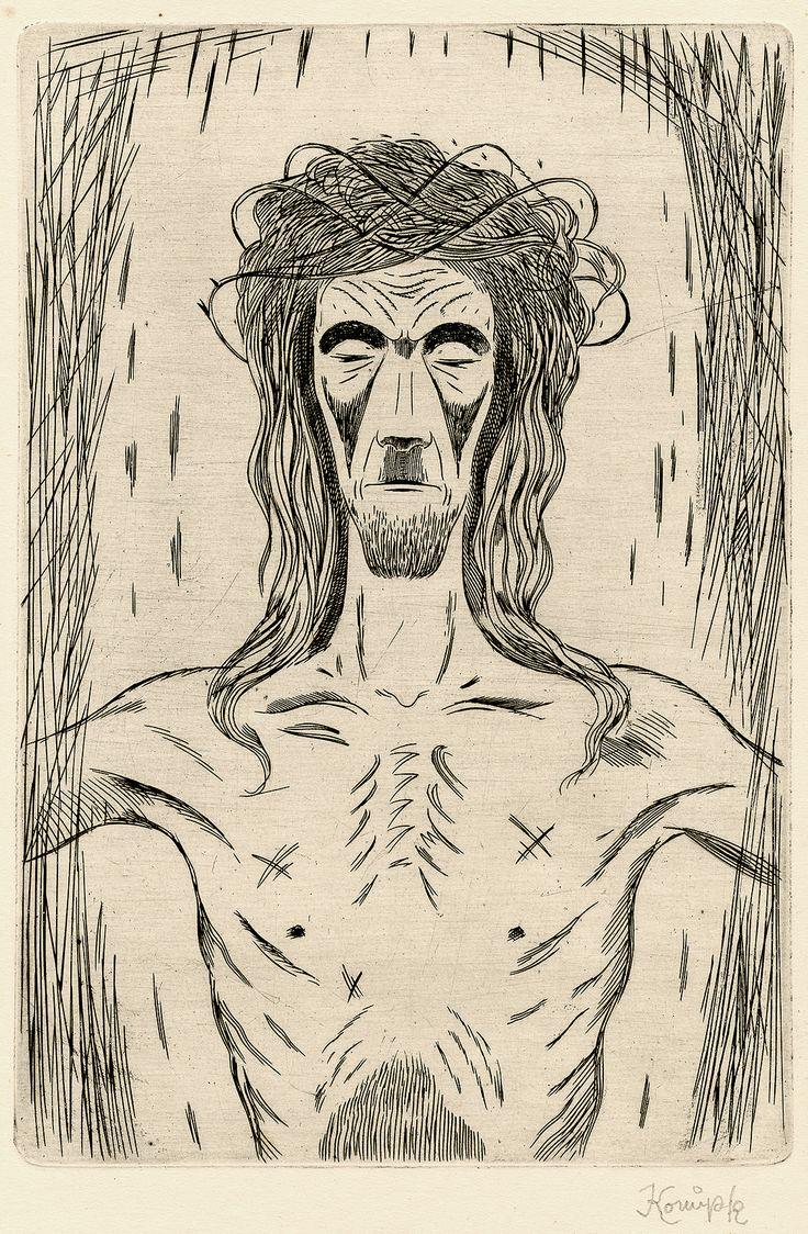 Jan Konůpek: Ježíš Kristus (Jesus Christ), 1. polovina 20. století