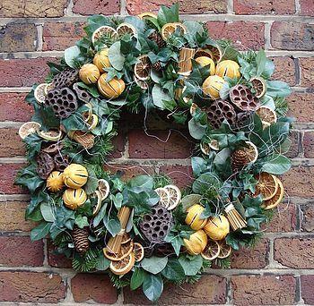 Citrus, Cone & Pod | Wreath Ideas | Pinterest | Speckled eggs, Wreaths and Easter