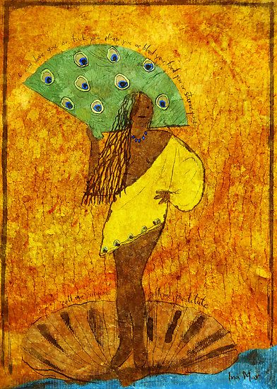 oshun | Ina Mar › Portfolio › Oshun, Santeria Goddess of Love
