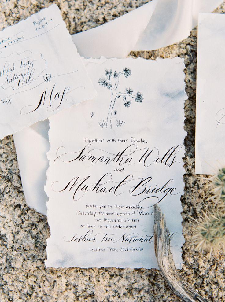 25 cute joshua tree wedding ideas on pinterest tree for Joshua tree wedding invitations