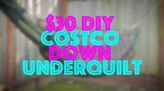 $30 DIY Costco Down Hammock Underquilt - YouTube