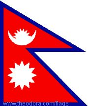 Nepal Flags geographic.org
