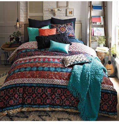 Blissliving Home 'Madero' Reversible Duvet Cover Set