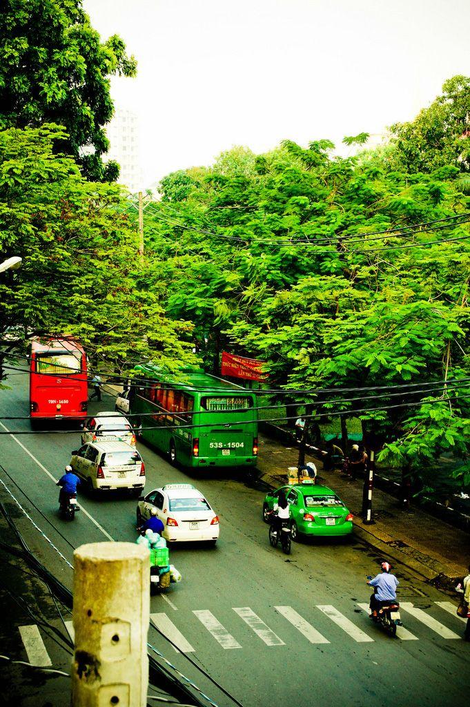 Downtown Saigon, Vietnam
