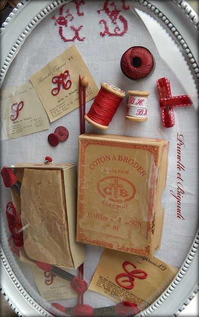 Maybe this for my antique sewing notions.