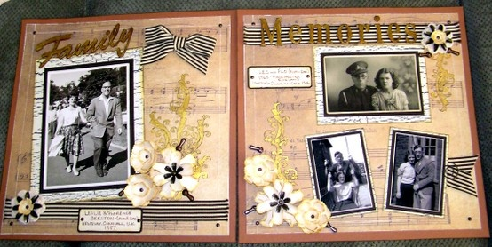 Double page Rustic Layout using all Kaszazz papers and embellisments