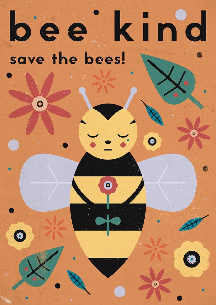 Best ideas about bee illustration on pinterest