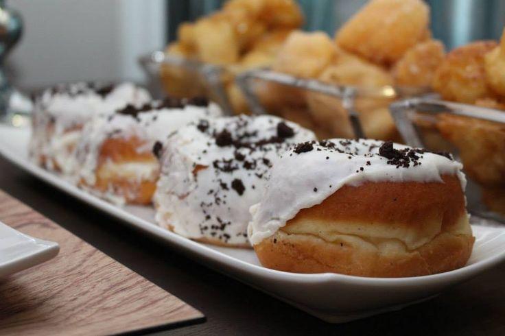 Masculine Birthday Dessert table. Donuts from Suzy Q Donuts, Ottawa.