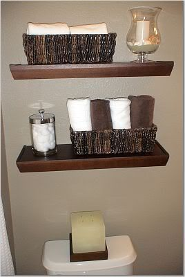shelves with baskets for storage | Baskets as Bathroom Storage: Hit or Miss? - Modern Bathroom Reviews