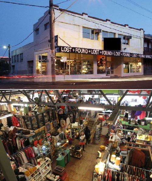 Lost and Found Market - Brunswick East, Melbourne, VIC, Australia