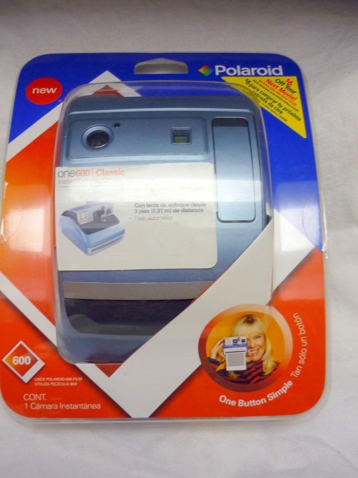 Polaroid Camera One600 Classic One-Button Instant Camera Uses Polaroid 600 Film #Polaroid