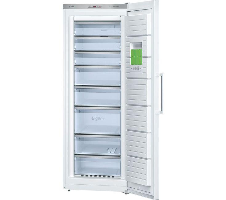 bosch serie 6 gsn58aw30g tall freezer white - Upright Deep Freezer
