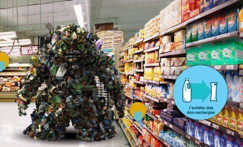 Nouvelle campagne pub ADEME «Réduisons nos déchets» – les monstres