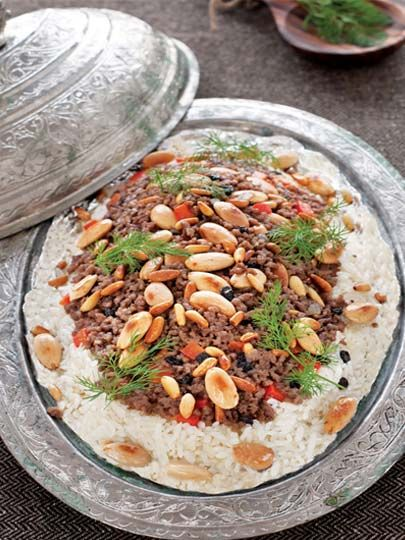 Duvaklı pilav .. Turkish cuisine