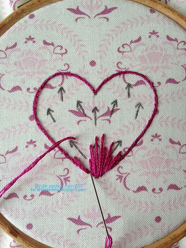 969 Best EMBROIDERY STITCHES Images On Pinterest