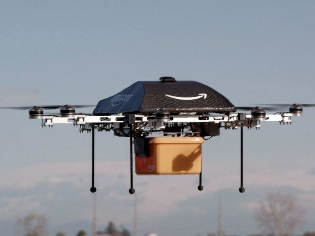 Amazon is testing drones that will deliver packages to your door in 30 minutes