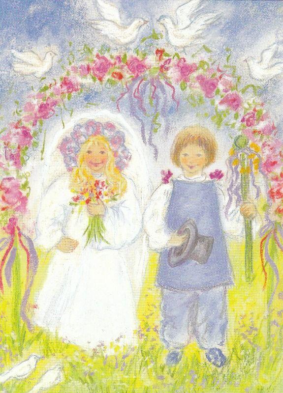 .De Pinksterbruid en bruidegom