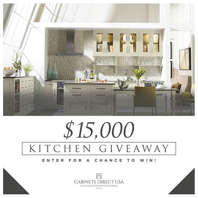 Looking To Redo Your Kitchen If You Enter Our Contest You Have The Chance To Win A Free 15000 Kitchen Makeover Click The Link In Our Bio To Learn More