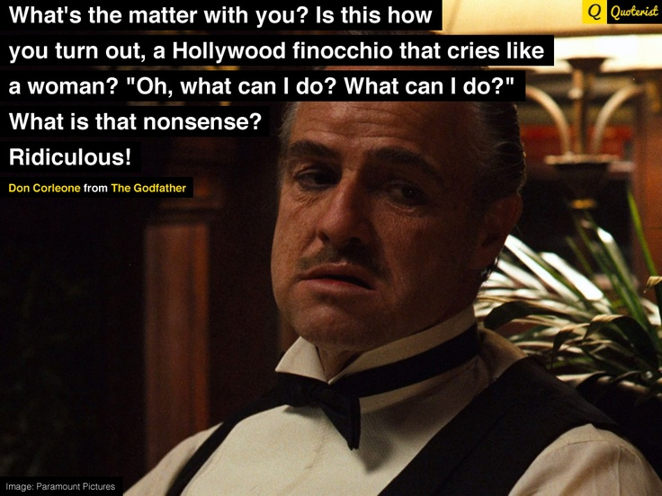 Godfather Quotes 37 Best The Godfather Quotes Images On Pinterest  The Godfather