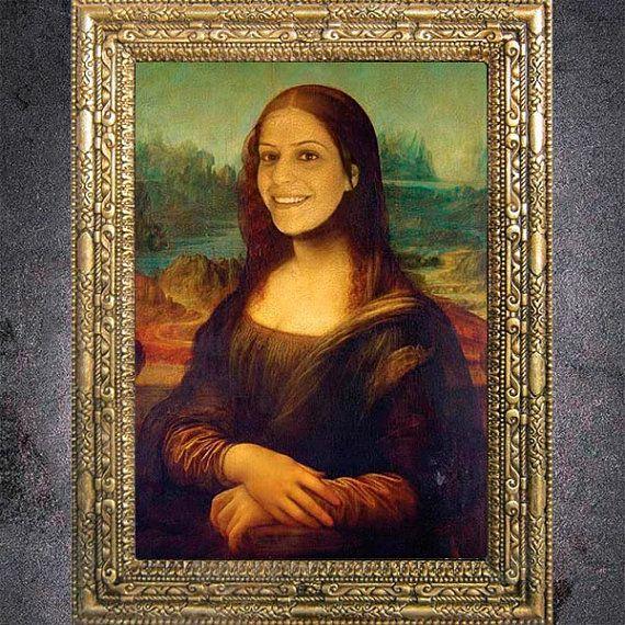 Custom Mona Lisa Digital Portrait From Your Photo by dasfolDesign