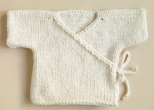 Baby Kimono knit pattern free