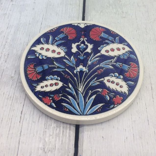 TURKISH CERAMIC COASTER, 0032