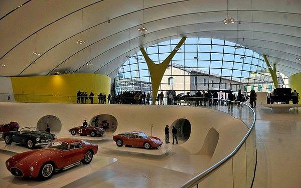 Enzo Ferrari House Museum in Modena, Italy