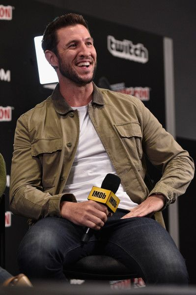Pablo Schreiber Photos - Pablo Schreiber of American Gods speaks onstage during IMDb LIVE at NY Comic-Con at Javits Center on October 7, 2017 in New York City. - IMDb LIVE at NY Comic-Con