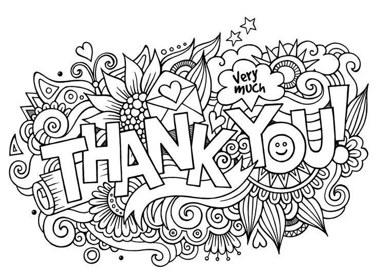 11 Best Thank You Coloring Pages Only Coloring Pages Coloring Pages Inspirational Coloring Pages Coloring Books