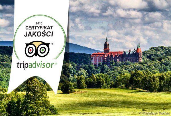 Książ Castle earns 2016 #TripAdvisor Certificate of excellence! Travellers, we are grateful for your strong ratings! Zamek Książ (@Zamek_Ksiaz)   Twitter
