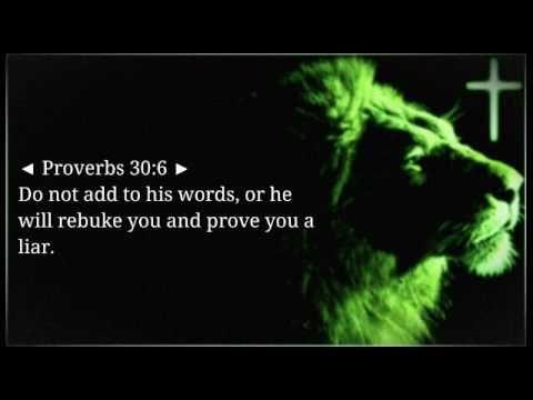Lion's Mane (Bible Verse) Proverbs 30:6