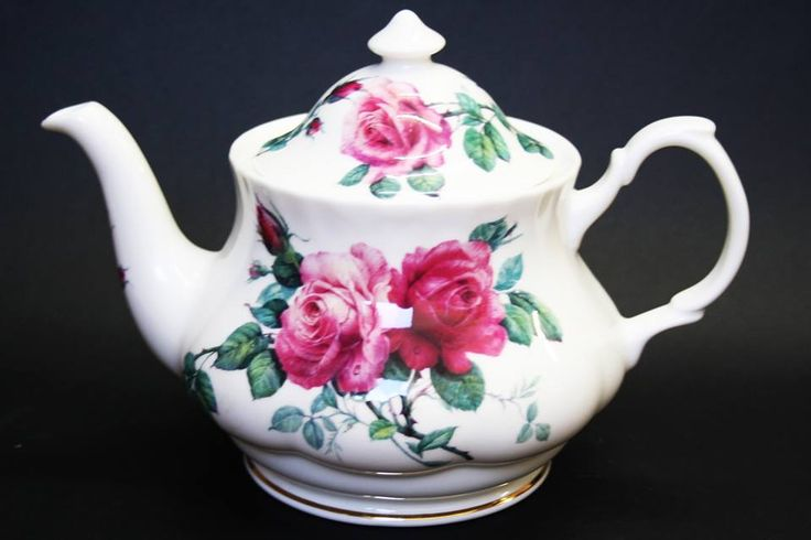 """#74 - An oldie but a goodie - 'English Rose' by Roy Kirkham. This is what your Nan means when she says """"a PROPER teapot"""". We also have the 'Versailles Rose' version of these on sale:  http://www.tealeaves.com.au/teapots/teapot-versailles/w1/i1066485_1005301"""