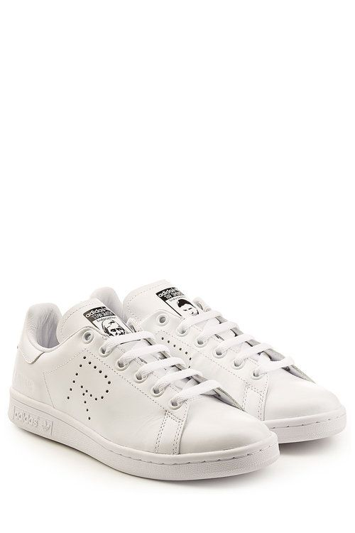 ADIDAS BY RAF SIMONS Adidas by Raf Simons Stan Smith Leather Sneakers. #adidasbyrafsimons #shoes #sneakers