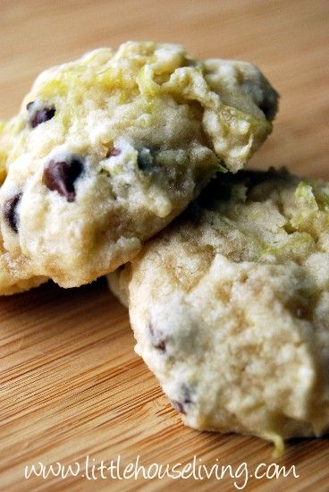 Zucchini Cookie Recipe-I can't wait for my summer crop of zucchini. These look fun.