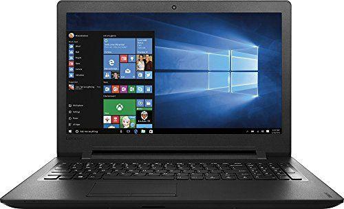 Lenovo IdeaPad110 15.6-Inch HD Laptop (Intel Celeron N3060 Dual-Core Processor 4GB RAM 500GB HDD Windows 10) Black