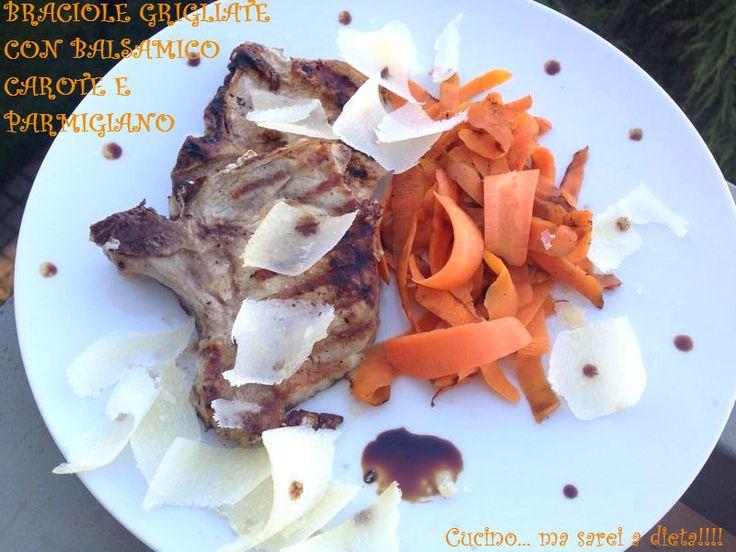 #maiale alla #griglia #ricetteleggere #dieta