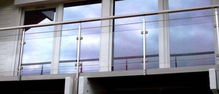 Garde-corps extérieur, rambarde sur mesure terrasse et balcon.