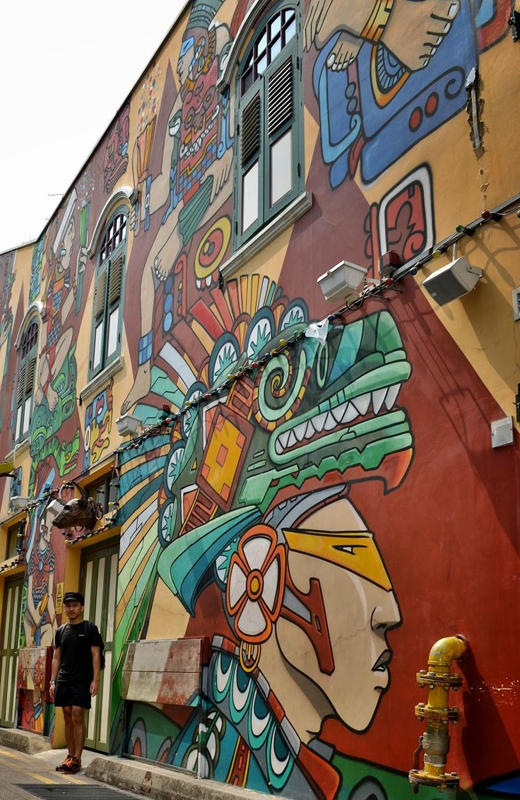 DELUXSHIONIST TRAVEL TO SINGAPORE - HAJI LANE MURAL