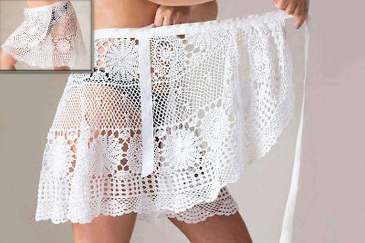 foto de Épinglé par patricia robert sur ACCESSOIRES DE MODE :=) Vêtements en crochet Jupes au crochet